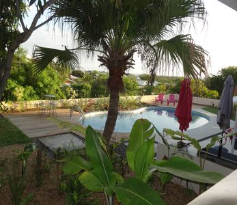 Photo for House with tropical garden and private pool