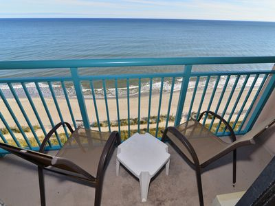 Photo for Boardwalk Beach Suite!  Direct Oceanfront * Lazy River * Wifi!