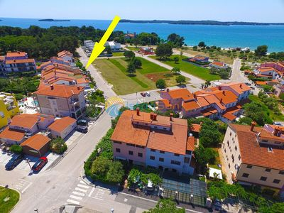 Photo for Apartment 589/1428 (Istria - Fažana), Pets welcome, 150m from the beach
