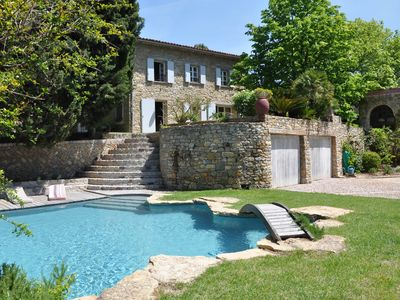 Photo for Bandol and its beaches are 10 min away. You will love this charming farmhouse