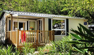 Photo for Camping La Presqu'île du Barcarès **** - 3-room air-conditioned cottage 4 people with TV