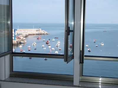 Photo for RIBAdoMAR Caión (3rd), Comfortable accommodation, sea views, ideal families.