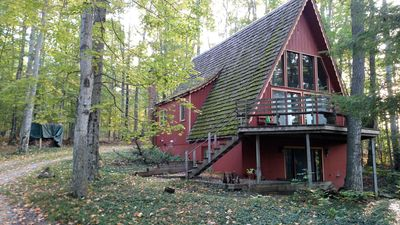 Photo for Walloon lake Chalet with dock