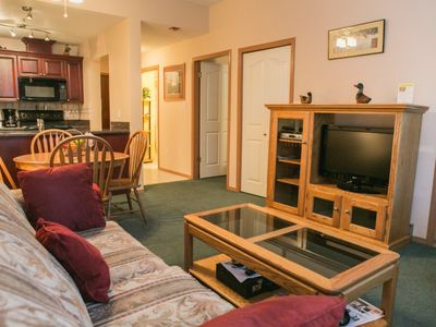 Wifi, large screen TV and spacious floor plan