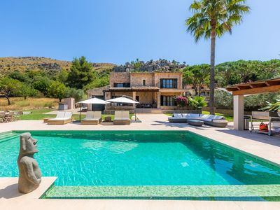Photo for Fantastic Villa Xoya with Pool, Large Terrace, Garden, Balcony, Air Conditioning & Wi-Fi; 6 Parking Spaces Available
