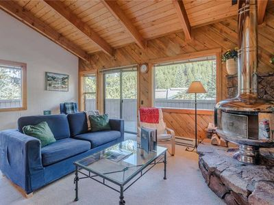 Photo for Charming Rustic Condo in Warm Springs w/Large Deck and Great Mtn. Views!