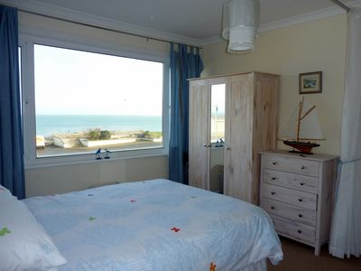 Photo for Driftwood Heights is a delightful first floor apartment with good sea views.