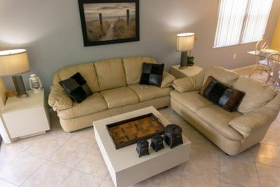 Cozy living room, a perfect place to get relaxed after an eventful day!