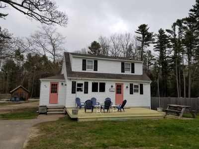 Photo for New Rental in Kennebunk - 1 mile from Dock Square and Beaches in the woods.
