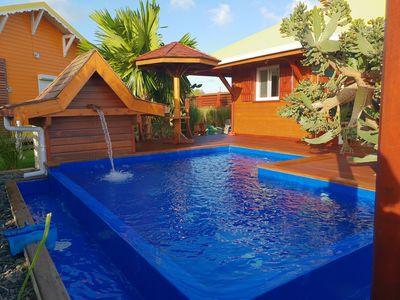 Photo for Charming bungalow and private pool
