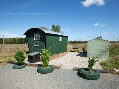 Photo for March Luxury Shepherd's Hut set in stunning location with private Hot Tub