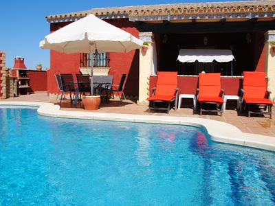 Photo for Holiday house with pool and Wifi in Lauentfernung to shops and bars, close to the sea