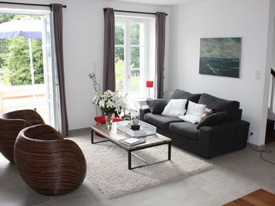 Photo for Modern charming country house at the Atlantic Ocean and the Gulf of Morbihan