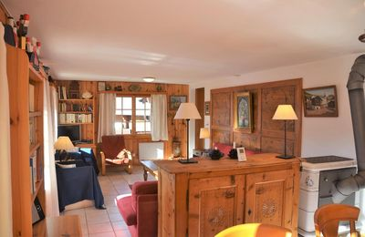 "Photo for Outside : spacious chalet for 10 person, situated in ""vieux village"" road,Inside : around 140 sqm, h"