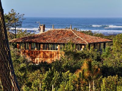 Photo for Magnificent house in Moliets overlooking the ocean and the Huchet current reserve