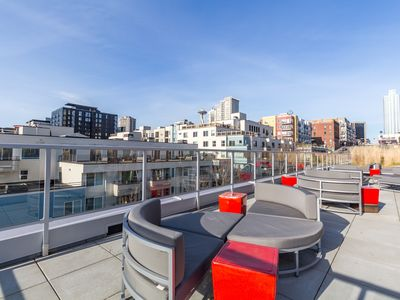 Photo for Dog-friendly downtown ArtHouse studio w/private patio, a shared gym & roof deck!