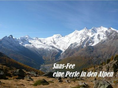 Photo for Apartment Achat in Saas-Fee - 4 persons, 2 bedrooms