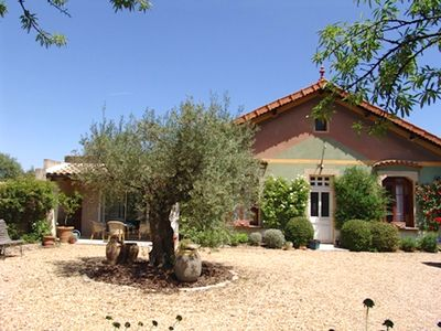Photo for House in St. Rémy de Provence with private garden and pool
