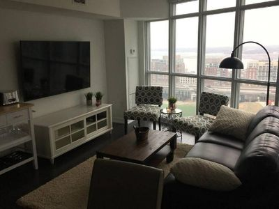 Photo for Pretty large 2 BR with fabulous lakeview