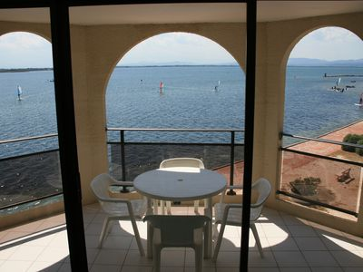 Photo for SUPERB MEDITERRANEAN APARTMENT WITH A MARVELLOUS VIEW AT CAP COUDALERE BARCARES