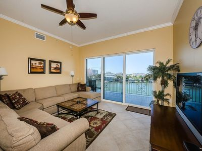 Photo for Large 3 Bedroom 3 Bathroom right on the water !
