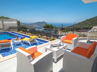 Photo for Luxury 3 Bedroom Villa with Views, Secluded Pool, Sauna, Cinema Salon, & Jacuzzi