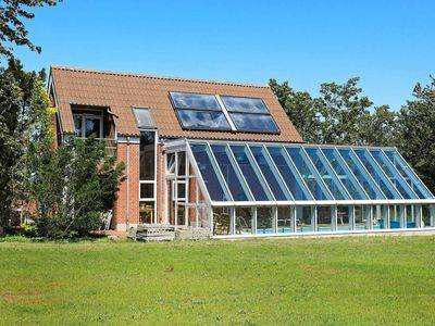 Photo for Modern Cottage in Farsø with swimming pool