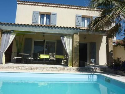 Photo for Comfortable house with heated pool in the heart of the Camargue very quiet
