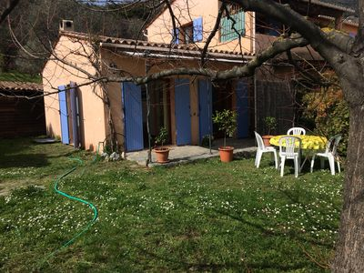 Photo for A beautiful apartment in the countryside of Grasse.