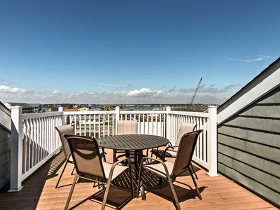 Photo for NEW! Breezy Condo Steps from Ocean City Boardwalk!