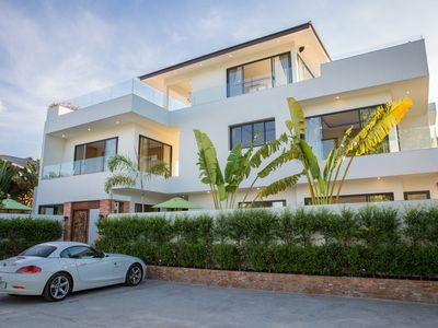 Photo for Beachside Villa Pina Colada 5BR(with a big cinema)