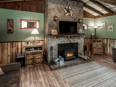 Photo for Hide away in the mountains in this cute cabin with views galore. Breathe deep