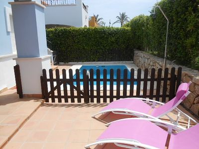 Photo for Detached Villa With Private Pool On Mar Menor Golf Resort