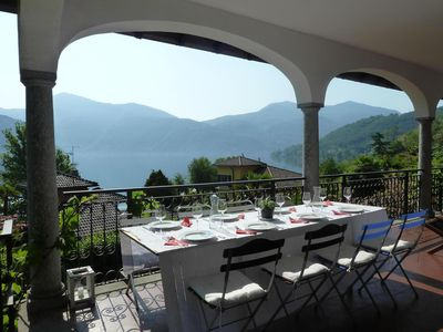 Photo for 5BR Apartment Vacation Rental in Brusimpiano, Provincia Varese