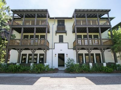 Photo for Newly Renovated-Top Floor-Rosemary Beach Flat-Upscale Accommodations!
