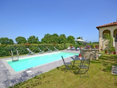 Photo for 4 bedroom Villa, sleeps 8 in Appalto with Pool, Air Con and WiFi