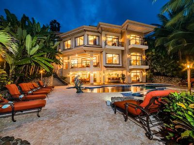 Photo for Recently listed! True Oceanfront Estate in a Gated Community w/ Private Beach