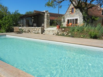 Photo for 4BR Cottage Vacation Rental in Chauffour sur Vell, Corrèze