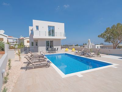 Photo for Villa Davina,Brand New, Luxury 5BDR Protaras Villa with Private Pool + Sea Views