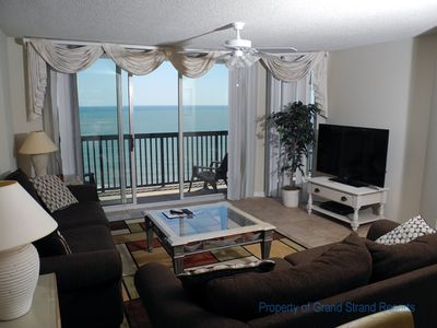 Photo for Ashworth Unit 1604! Stunning Ocean Front Condo! Book your get away today!
