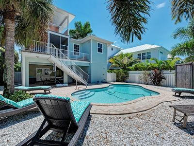 Photo for Flip Flops & Fish Tales | Beautiful, Spacious Home on North End, Private Pool!