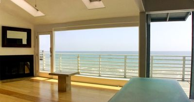 Photo for 'Walls of Glass' Malibu Oceanfront Beach House