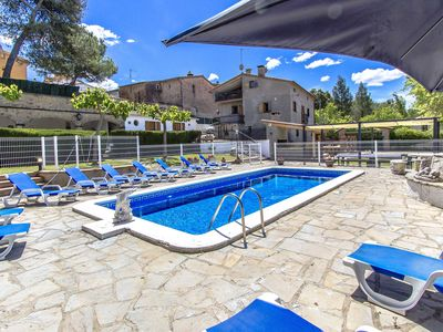 Photo for Catalunya Casas: Villa Rellinars for 11 guests, in the lush Catalonia countryside!