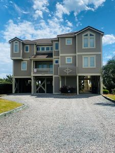 Photo for Extraordinary Ocean Views - Large Covered Porches - Sunroom!