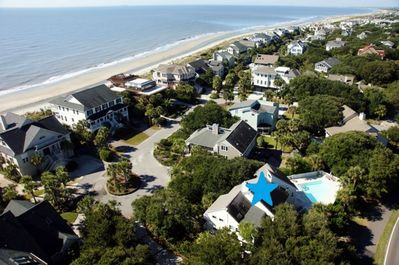 Secluded Home Across the Street from Beach