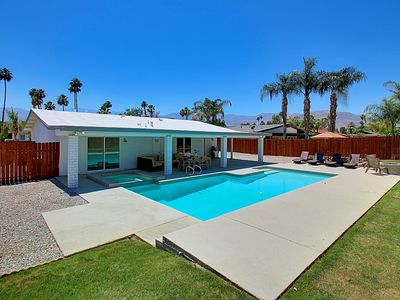 Photo for Jump right into this Large Private Oversize Pool that Awaits Your Splash!