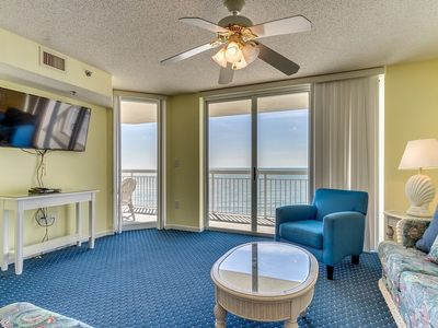Photo for Modern and Spacious Condo, Indoor and Outdoor Pools | Crescent Shores - N 802
