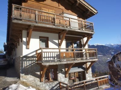 Photo for LUXURY NEW APARTMENT 120 m2 ski tracks 4 double rooms