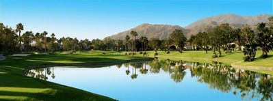 Photo for Great Two Bedroom Condo on the 7th Tee of the Palmer Private Course at PGA West