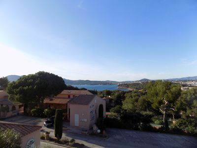 Photo for Cap Soleil Apartment 4 people Sea and harbor view